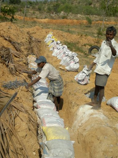 labourers working
